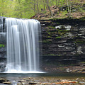 Harrison Wright Falls Spring by Philip LeVee