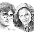 Harry Potter And Hermione by Murphy Elliott