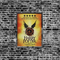Harry Potter London Theatre Poster by Mark Rogan