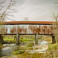 Harshaville Covered Bridge  by Jack R Perry