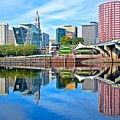 Hartford Reflects by Frozen in Time Fine Art Photography