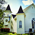 Hartsburg Baptist Church by Cricket Hackmann