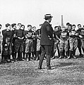 Harvard Football Practice by Underwood Archives