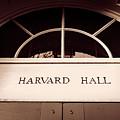 Harvard Hall #2 by Stephen Stookey