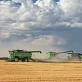 Harvest Clouds by Todd Klassy