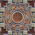 Harvest Colors Mandala by Judi Suni Hall