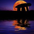 Harvest Moon by Mark Stokes