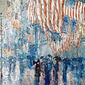 Hassam Avenue In The Rain by Granger
