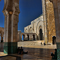 Hassan II Mosque  by Chuck Kuhn