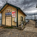 Hastings Jetty by Wayne Sherriff