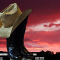 Hat N Boots 11 by Chuck Shafer