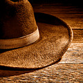 Hat - Sepia by Olivier Le Queinec