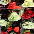 Hats In A Window by Jeff Townsend