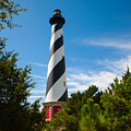 Hatteras Lighthouse Standing Guard by Richard Bandy
