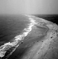 Hatteras Point View From Cape Hatteras Lighthouse by Evelyn Odango