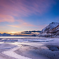 Haukland Sunset - Vertical by Michael Blanchette