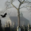 Haunted Halloween Cemetery by Gothicrow Images