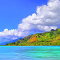 Hauru Point Moorea by Dominic Piperata