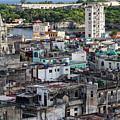 Havana Cityscape by Brigitte Mueller