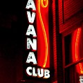 Havana Club At Night by John Wall