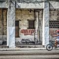Havana Graffiti Street Scene by Gigi Ebert