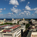 Havana Rooftops by Brigitte Mueller