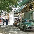 Havana Streets 1 by Lusi Morhayim