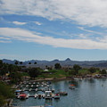 Havasu City Az Waterfront by Carol  Eliassen