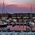Haverstraw Marina At Dawn by Thomas McGuire