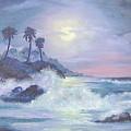 Hawaii At Night by Faye Tracy