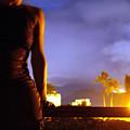 Hawaii Nights Self Portrait by Heather S Huston