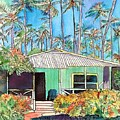 Hawaiian Cottage I by Marionette Taboniar