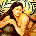 Hawaiian Girl by Em Scott