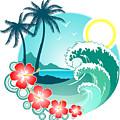 Hawaiian Island 2 by Lea Hollingsworth