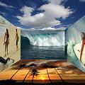 Hawaiian Zen Room by Bob Christopher