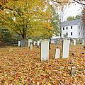 Hawke Meetinghouse - Danville New Hampshire by Erin Paul Donovan