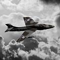 Hawker Hunter by J Biggadike