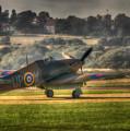 Hawker Hurricane Mk 1 R4118 Takeoff by Nigel Bangert