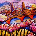 Hawthorne Bridge by Angelina Marino