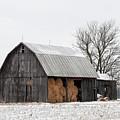 Hay Barn by David Arment