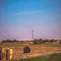 Hay Rolls by Claudia M Photography