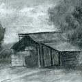Hay Shed Sketch by David King