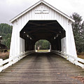 Hayden Bridge Covered Bridge by John Higby