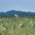 Haystacks by Maura Satchell
