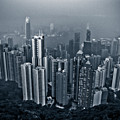 Hazy Hong Kong by Venetta Archer