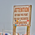 Hdr Sunbather Sign Beach Beaches Ocean Sea Photos Pictures Buy Sell Selling New Photography Pics  by Pictures HDR