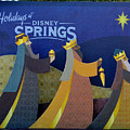 Three Wise Men Disney Springs by David Lee Thompson