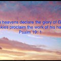 He Created The Heavens  by Debra Lynch