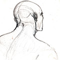 Head, Back View by Miquel Sirera