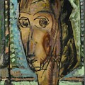 Head Of A Girl by Henry Maurer